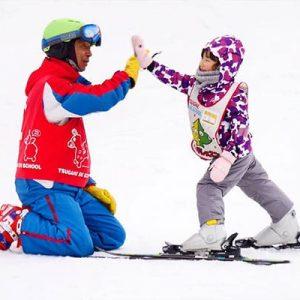 子どもも楽しめる栂池スキー場
