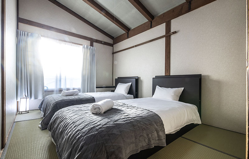 Private Single bed Room | UNPLAN Village Hakuba 2