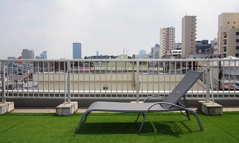 UNPLAN Kagurazaka Rooftop Terrace